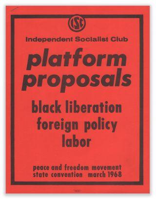 Marx and Marxism in Berkeley in 1968 – New Politics